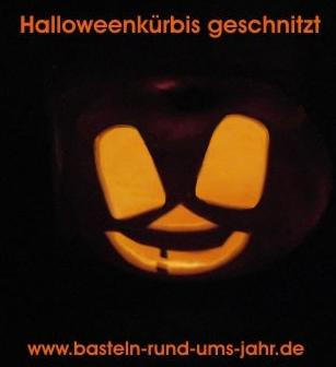 Halloween Kürbis Schnitzen Basteln Rund Ums Jahr