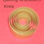 Quillng-Grundform-Kreis