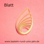Quillng-Motiv-Blatt