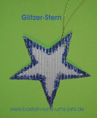 Mit Der Folgenden Bastelidee Glitzer Stern1
