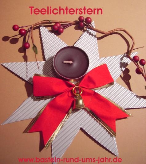 Basteln weihnachtslichter weihnachten  Basteln rund ums Jahr | Weihnachten