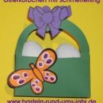 Osterkoerbchen mit Schmetterling