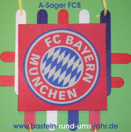 Geschenkidee Fur Bayern Munchen Fans Basteln Rund Ums Jahr