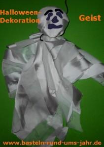 Halloweengeist weiß Halloween Geist