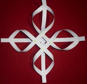 papierkunst ein nostaligischer stern aus 12 streifen basteln rund ums jahr. Black Bedroom Furniture Sets. Home Design Ideas
