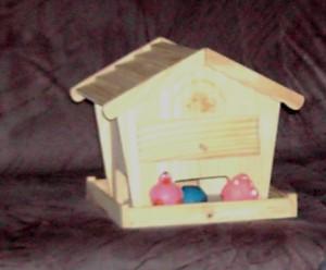Schrottwichteln Vogelhaus