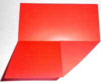 Bascetta Stern rot-weiß