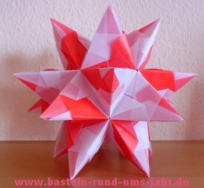 Bascetta Stern weiß rot