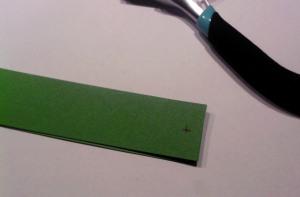 Papier Kugel basteln aus Resten vom Fröbelstern