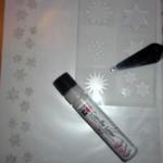 Kerze Weihnachten mit Candle Liner basteln