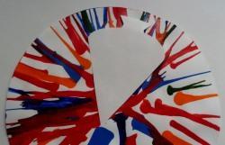 Glückwunschkarte zum Schulanfang mit Zuckertüte