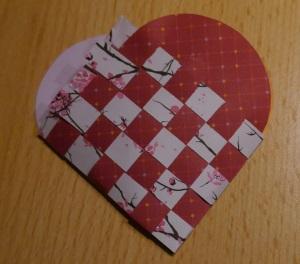 Herz Körbchen flechten 14
