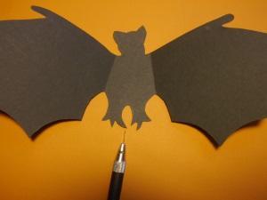 Fledermaus zu Halloween 5