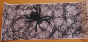 Windlicht Halloween Spinne 10