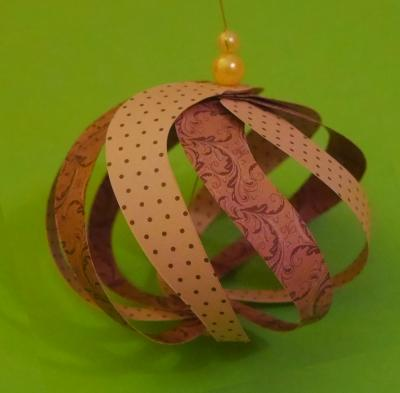 Christmas Ornament basteln