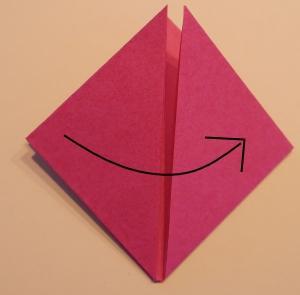 Tulpe aus Papier falten
