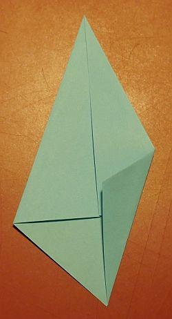 Weihnachtsstern mit 8 Spitzen, Anleitung Stern falten