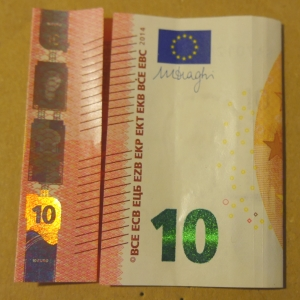 Geldschein verschenken Bastelidee simpel für Geschenke in letzter Minute