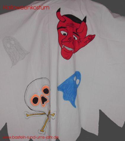 Halloweenkostuem Geist