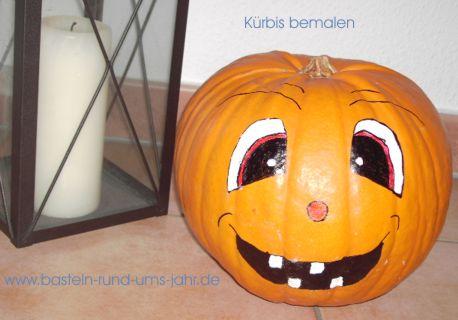 Motivvorlage Halloweenkürbis