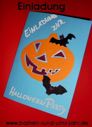 Einladung zur Halloween Party