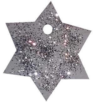 Salzteig – so entsteht ein weißer und glitzernder Stern
