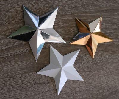 3D Stern – sehr einfach zu basteln